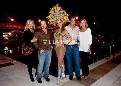 Melissa & Marc Ganzi, Brazilian Dancer, John Goodman, Heather