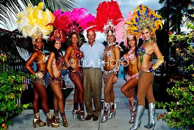 Michael Bucci w/Brazilian Dancers