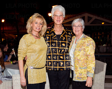 Judy Gibson, Milly McCoy, Sandy Reiss