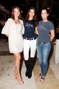 Kris Zagoria, Carolina Gonzalez, Karen Lipp - Representing Clothing Line: 2K Grey