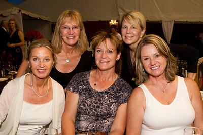 Back Row: Cheryl Berger, Linda Middleton Front Row: Gon Stevens, Christy Raisbeck, Nancy Kemp