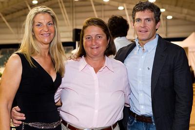 Cynthia Keating, Johnny Robb, Cary Wallace (Custom Saddlery)