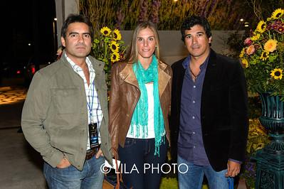 Eugenio Ferrari, Christina Vinios, Fernando Macuel Talaveva