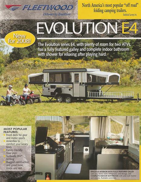 2008 Evolution E4 Page 1