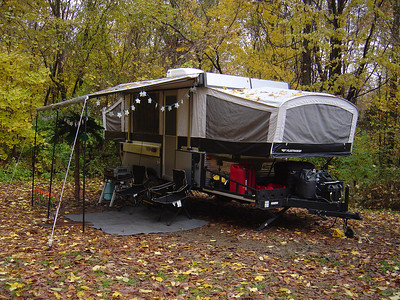 This was my Fleetwood Evolution a Lake Cowan, Ohio with my star tacky lites.