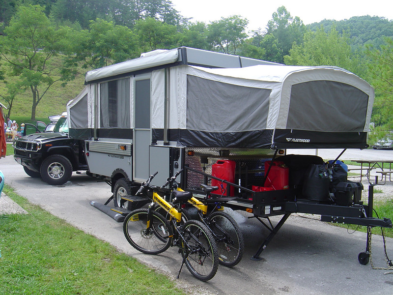 First camping trip to Kentucky... We have come a long way!