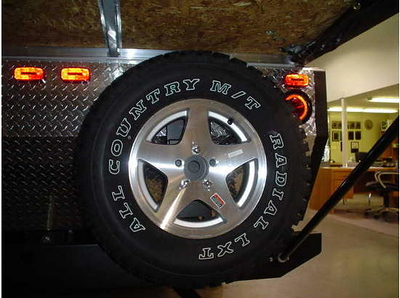 The only external change I can see is that the tires changed from the Cooper Durango Radial XTR to Merit All Country M / T  Radial LXT.