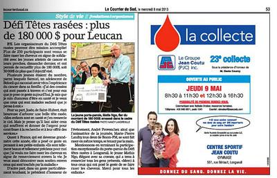 2013-05-06 Promenades St-Bruno -Défi têtes rasées -Leucan