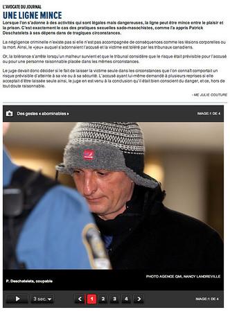 2013-02-28: Longueuil-Deschatelets au palais de justice de Longueuil