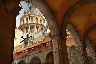Guanajuato arches