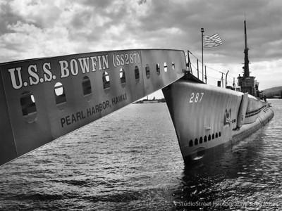Pearl Harbor and the USS Arizona Memorial, Oahu, Hawaii