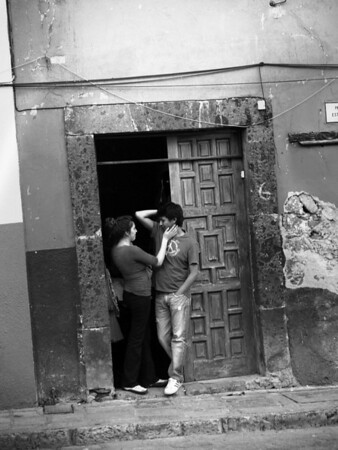 lovers in San Miguel, Mexico