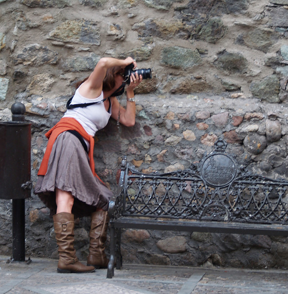 taking photos in Guanajuato 2012