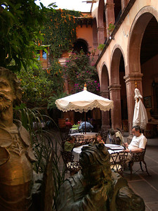 Surprise restaurants and shops tucked away in alcoves or behind unpretentious doors along the streets