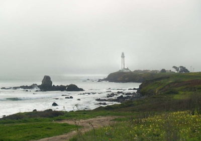Lighthouse, Northern California coast