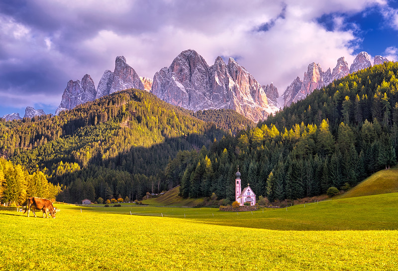Val di Funes - Church of St. John