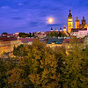 Hradec Kralove at full Moon