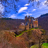 Castle Eltz above Moselle River, Germany