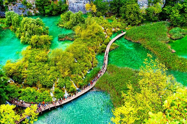 National Park Plitvice Lakes, Croatia
