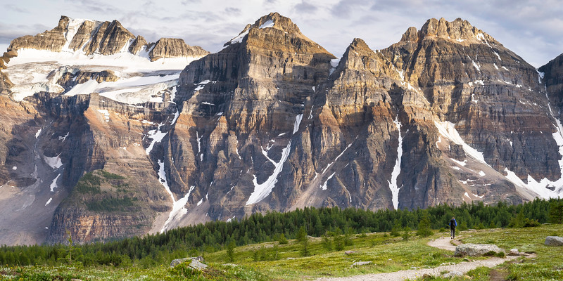 Valley Of Ten Peaks, Alberta, Canada