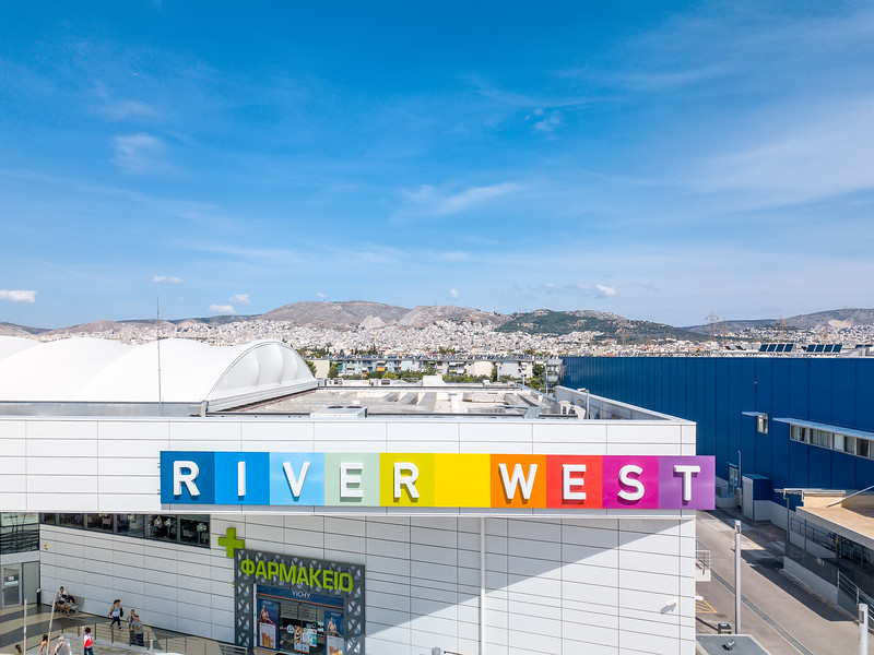 RIVER WEST, Shopping Center, Aigaleo