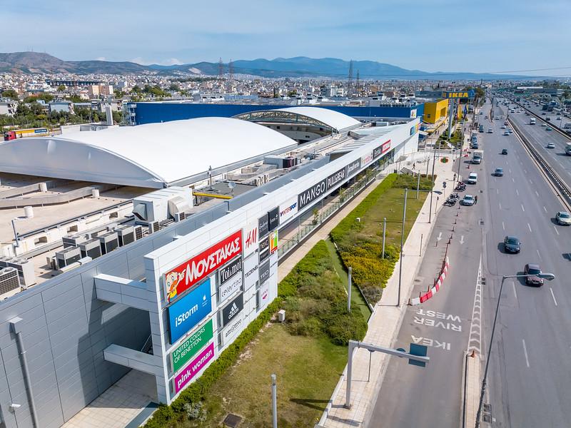 RIVER WEST, Shopping Center, Aigaleo