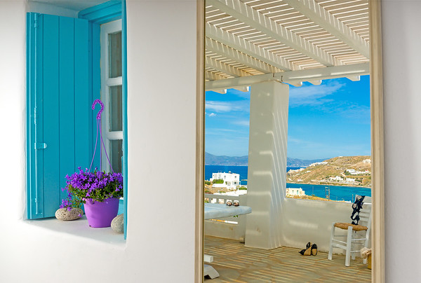 ORNOS BLUE part II, Guesthouse, Mykonos, Greece