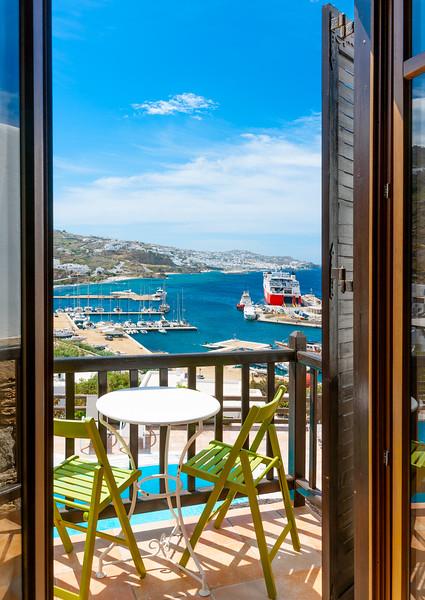 PARADISION,  Traditional Hotel, Mykonos, Greece