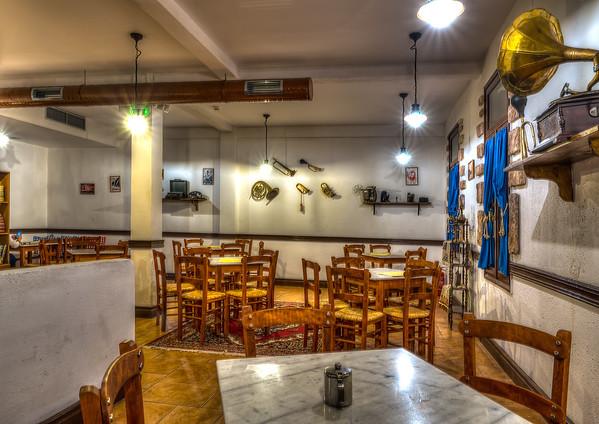 ONEIRIA II, Traditional Cafe, Athens, Greece