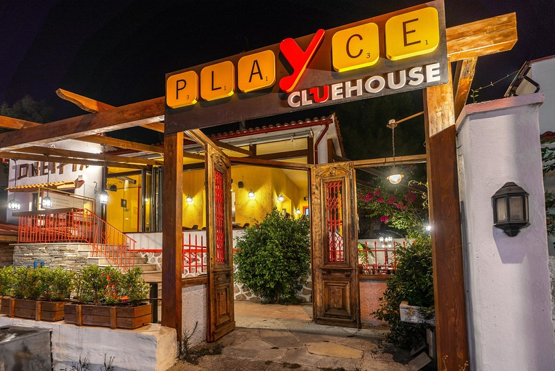 PLAYCE CLUEHOUSE, Games Cafe, Chalandri