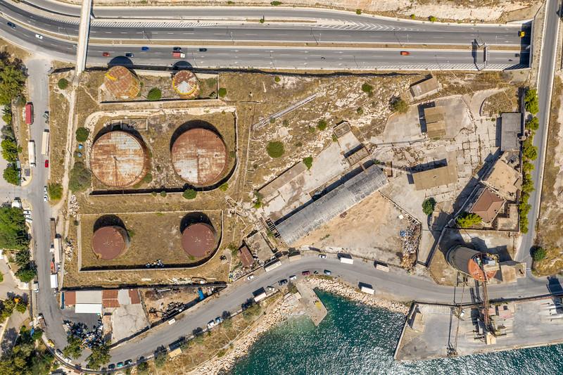Ε.Μ.Π., παλιές Εγκαταστάσεις BP,  Δραπετσώνα