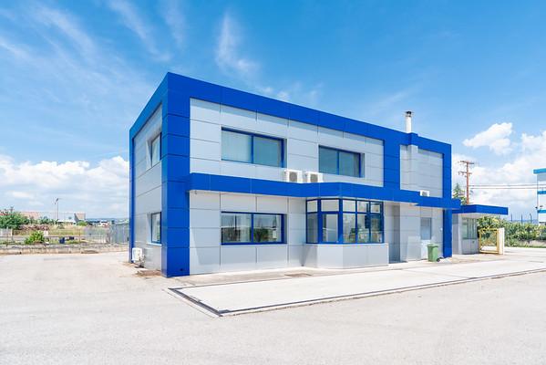 ETEM ,Industrial Building, Thessaloniki