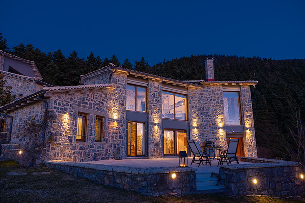 LUXURY CHALET, Vytina, Greece