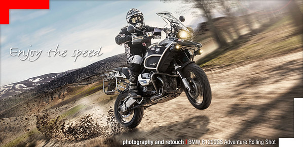 BMW R1200GS Adventure full speed