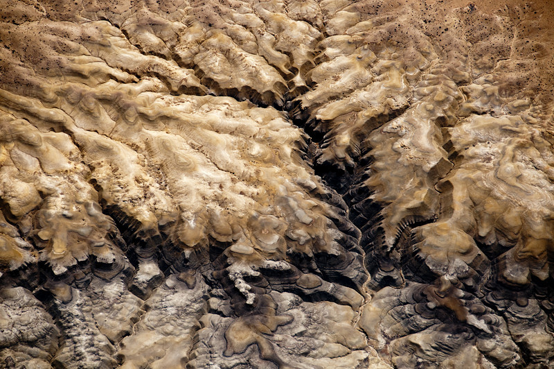 Abstract Aerial Photography<br /> The Badlands<br /> Northern New Mexico