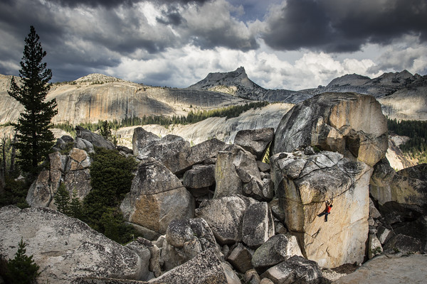 Lonnie Kauk - Tuolumne Meadows, California