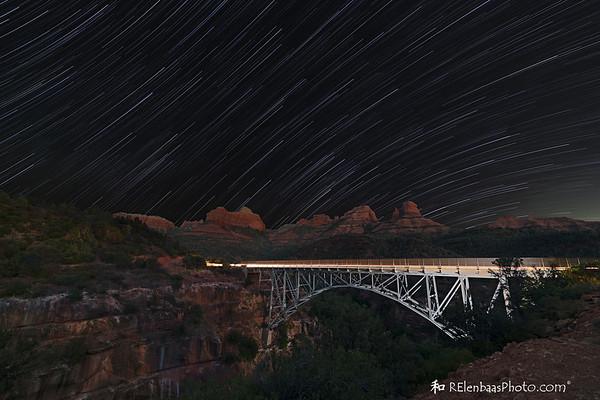 Star Trails 'n' Car Trails