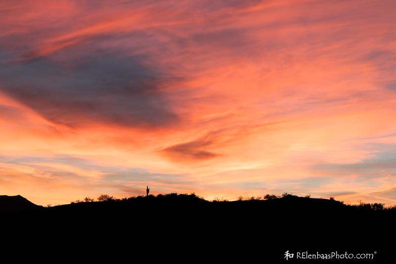 Peridot Mesa Sunset IV