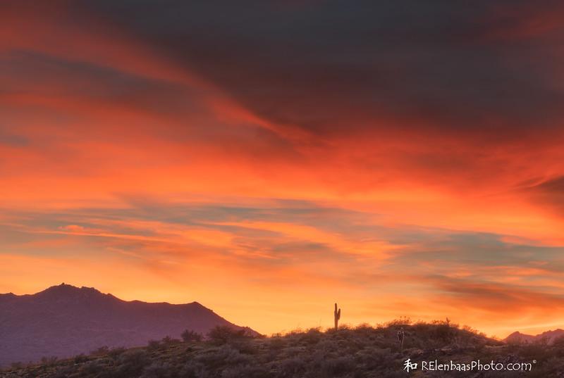Peridot Mesa Sunset V