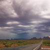 Storm Over Monument Valley III
