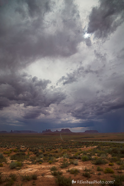 Storm Over Monument Valley I