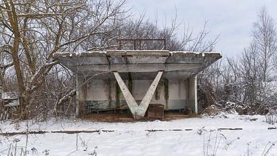 Chernobyl Zavorotnya Hanna village