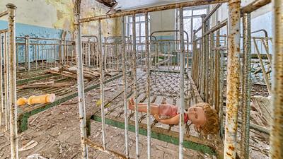 Chernobyl area Kindergarten