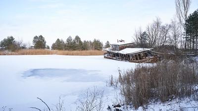 Pripyat abandoned boat