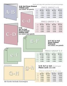 Greeting Card Price Template B
