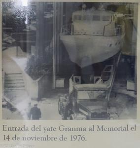 Article de presse sur le Granma