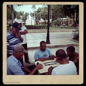 Partie de dominos à Bayamo
