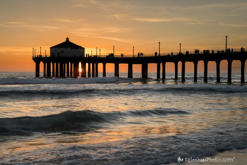 Manhattan Beach Sunset II