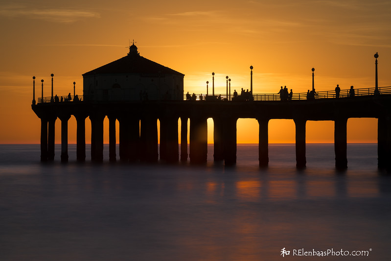 Manhattan Beach Sunset I
