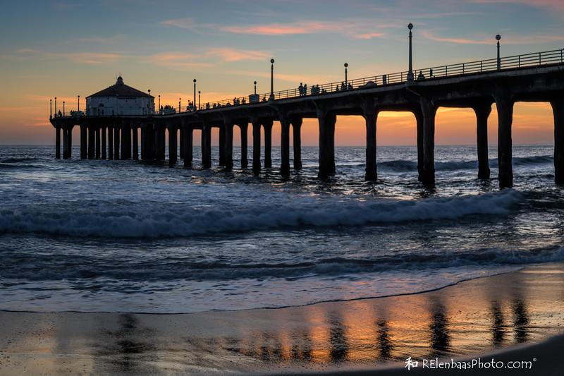 Manhattan Beach Sunset III
